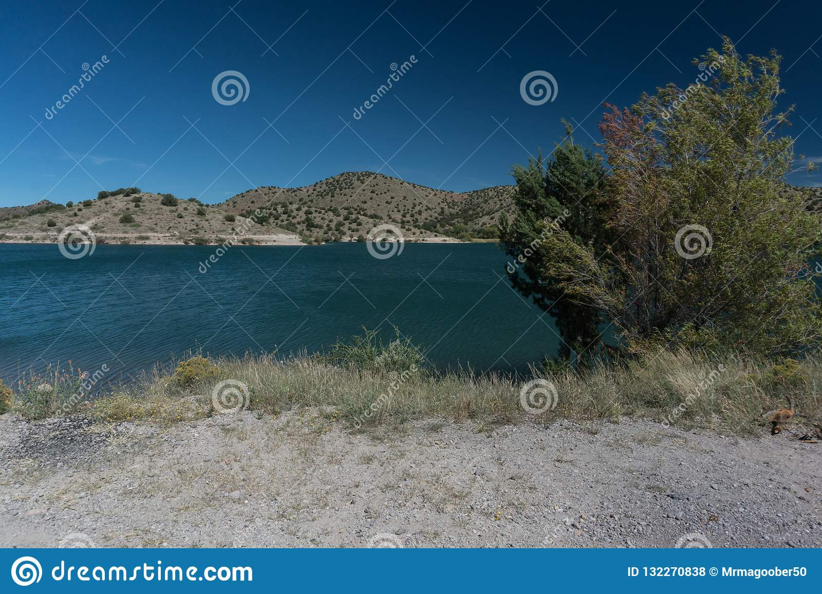 Bill Evans Lake near Silver City, New Mexico.
