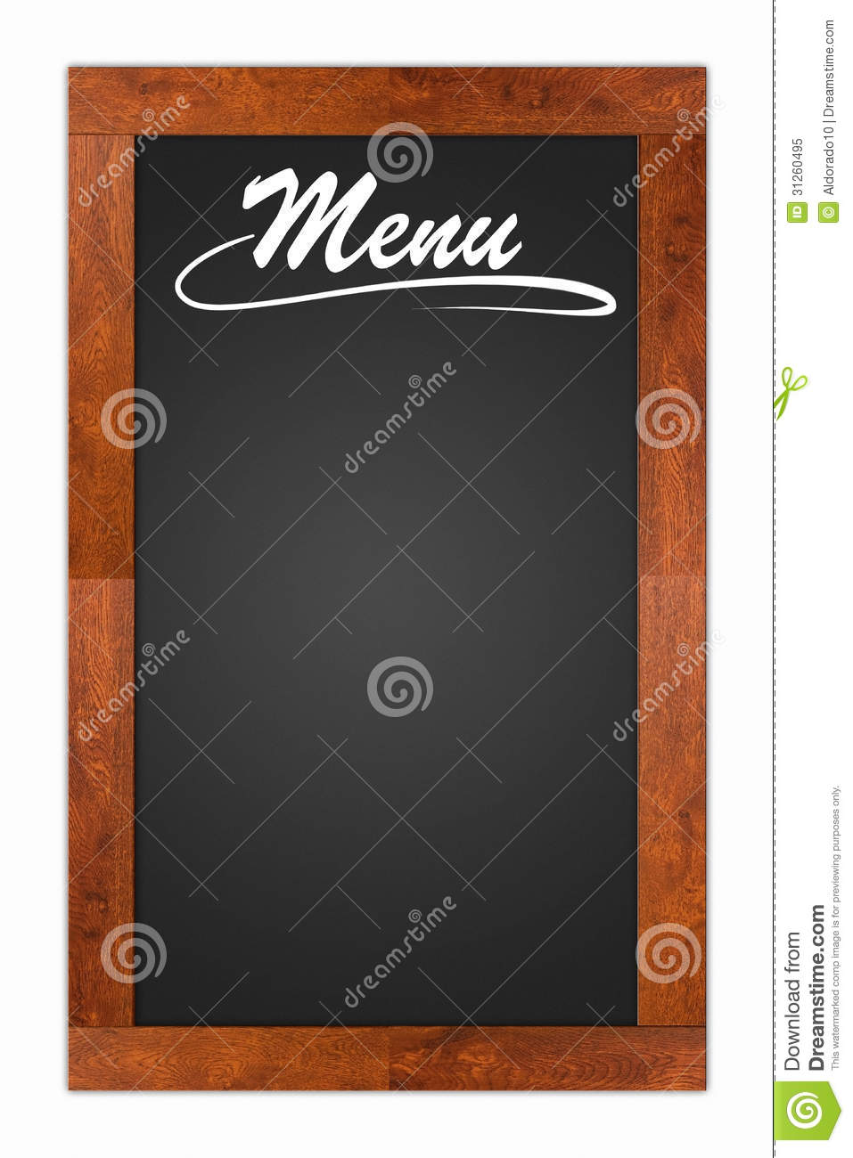 Bill Of Fare, Menu Card Royalty Free Stock Photo - Image ...