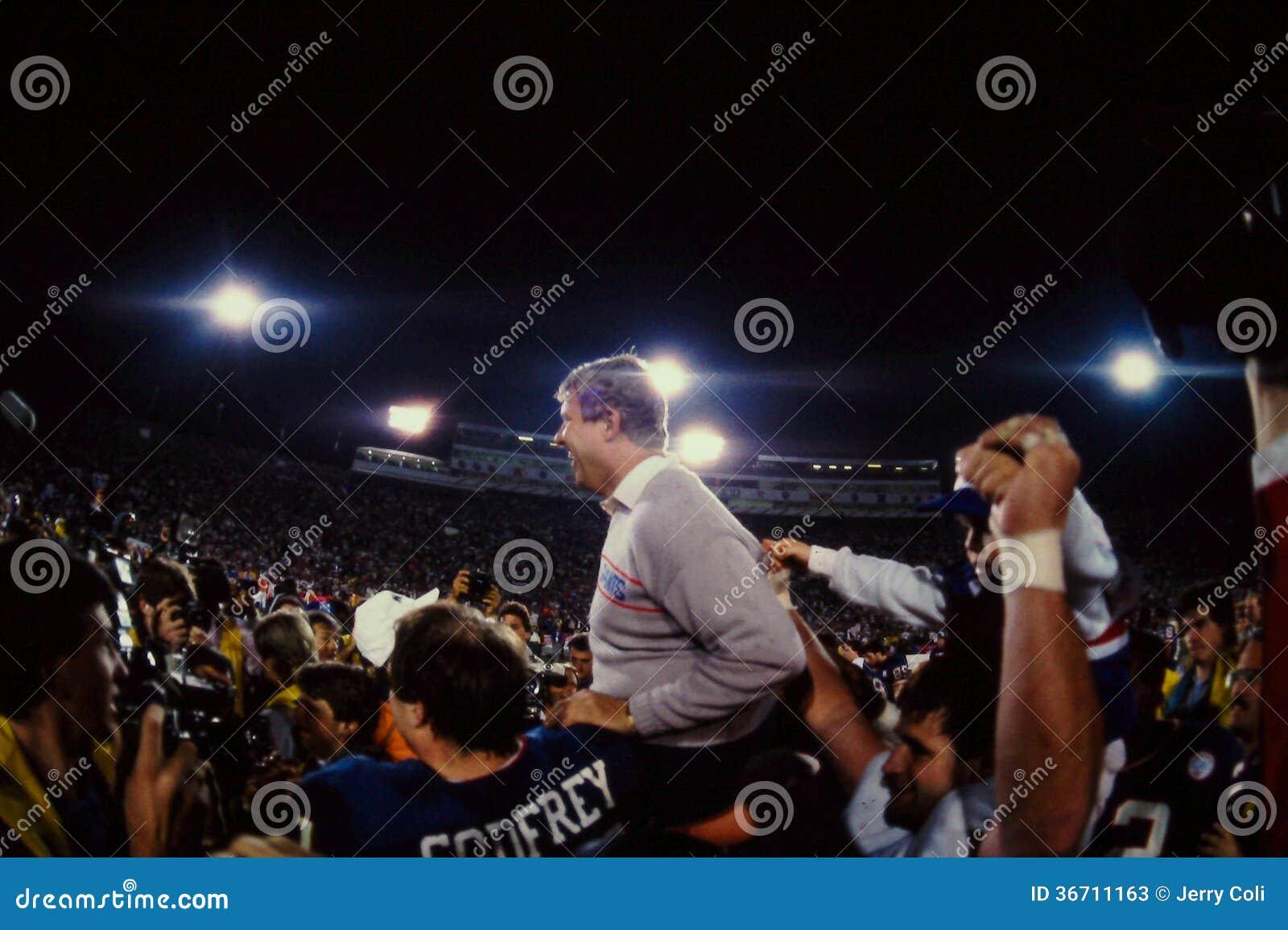 Bill Parcells New York Giants Head Coach