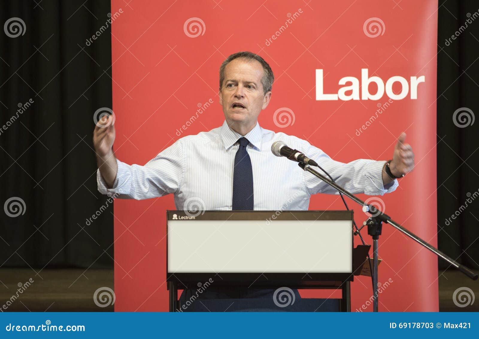 Bill Shorten, Australier-Arbeitsparteichef