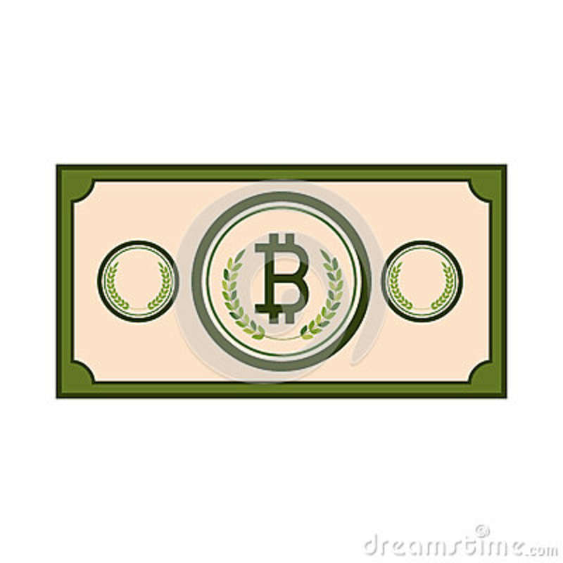 Bill With Symbol Of Baht Thailand Stock Vector Illustration Of