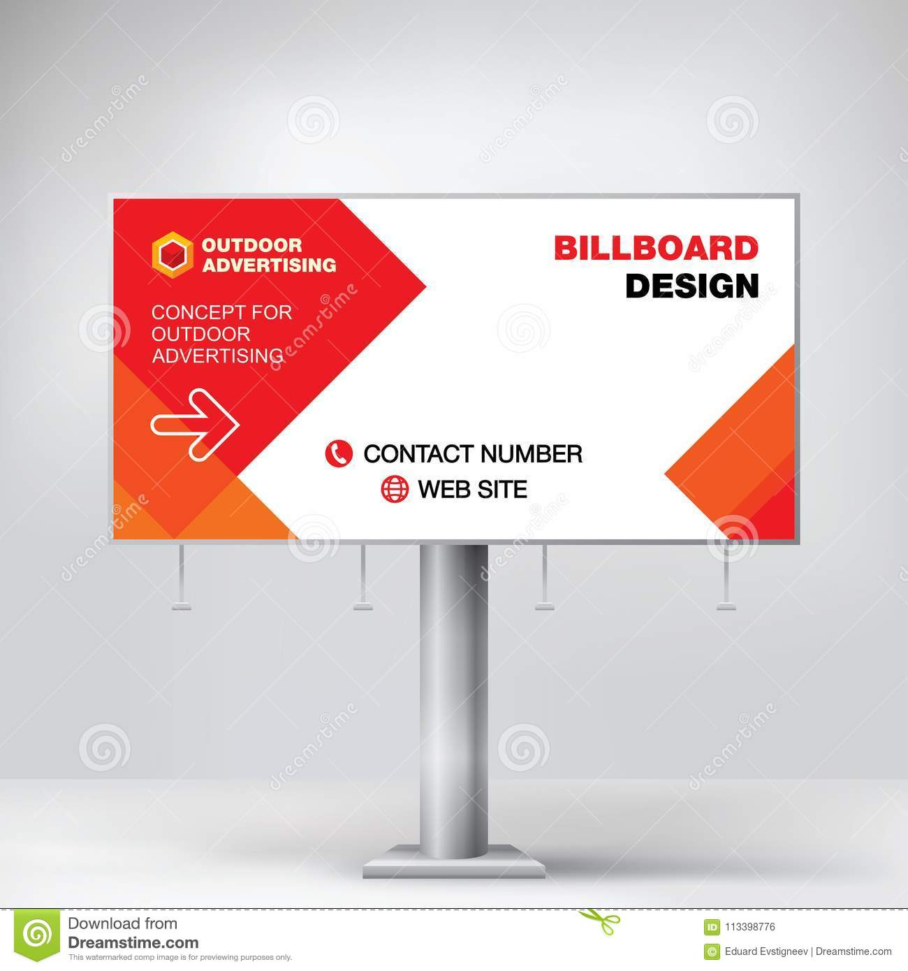 Billboard Design Template Free from thumbs.dreamstime.com