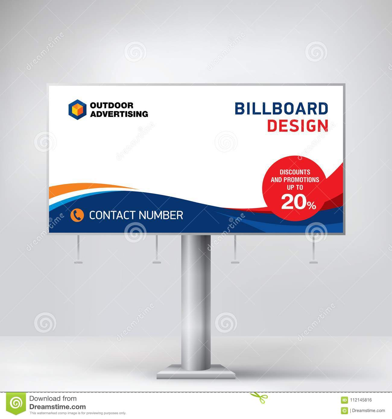 billboard design a universal template for placement advertising