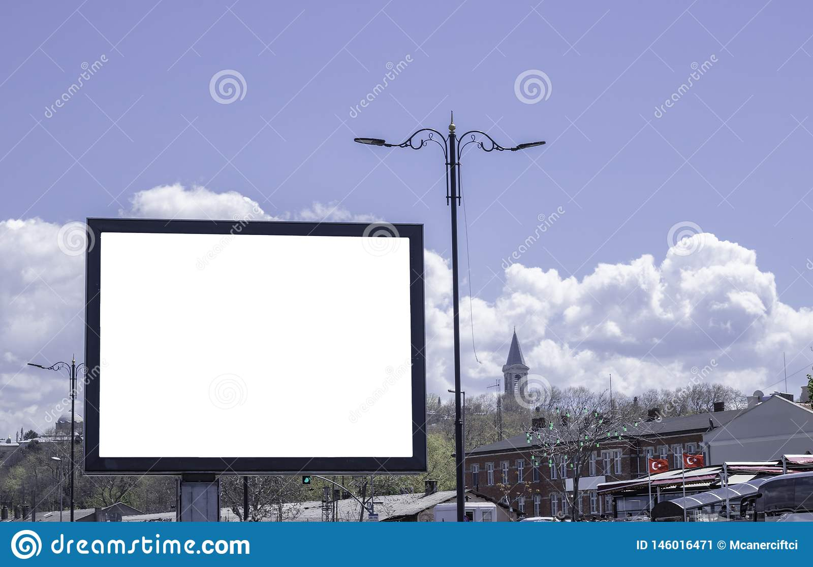 Billboards in parks and outdoors