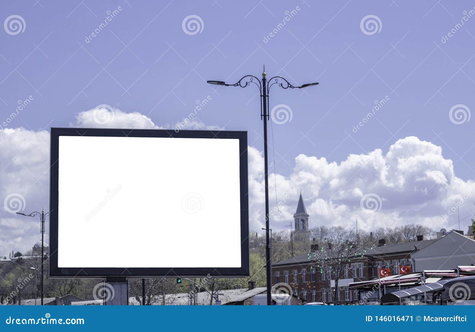 Billboardy w parkach i outdoors