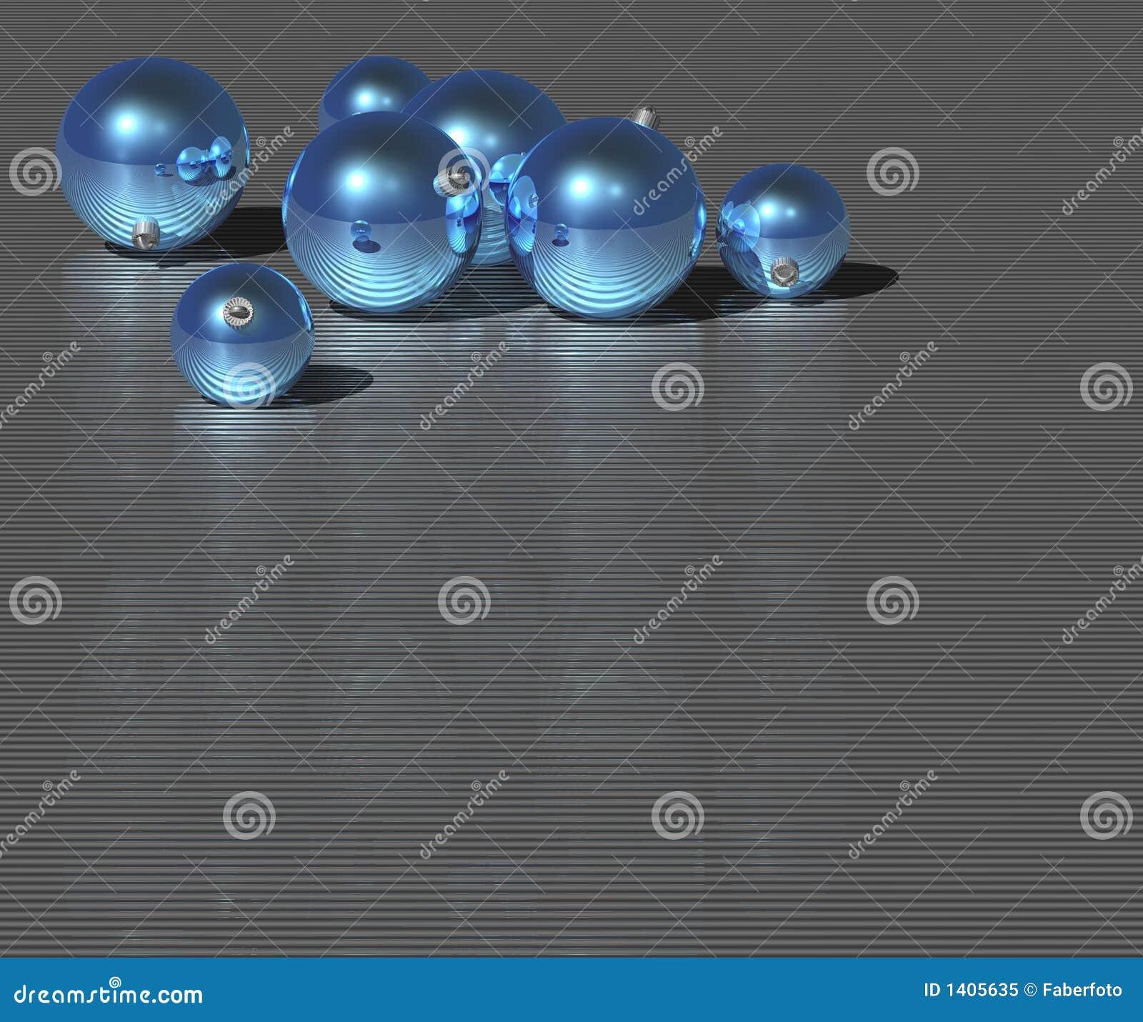 Bille de bleu de Noël