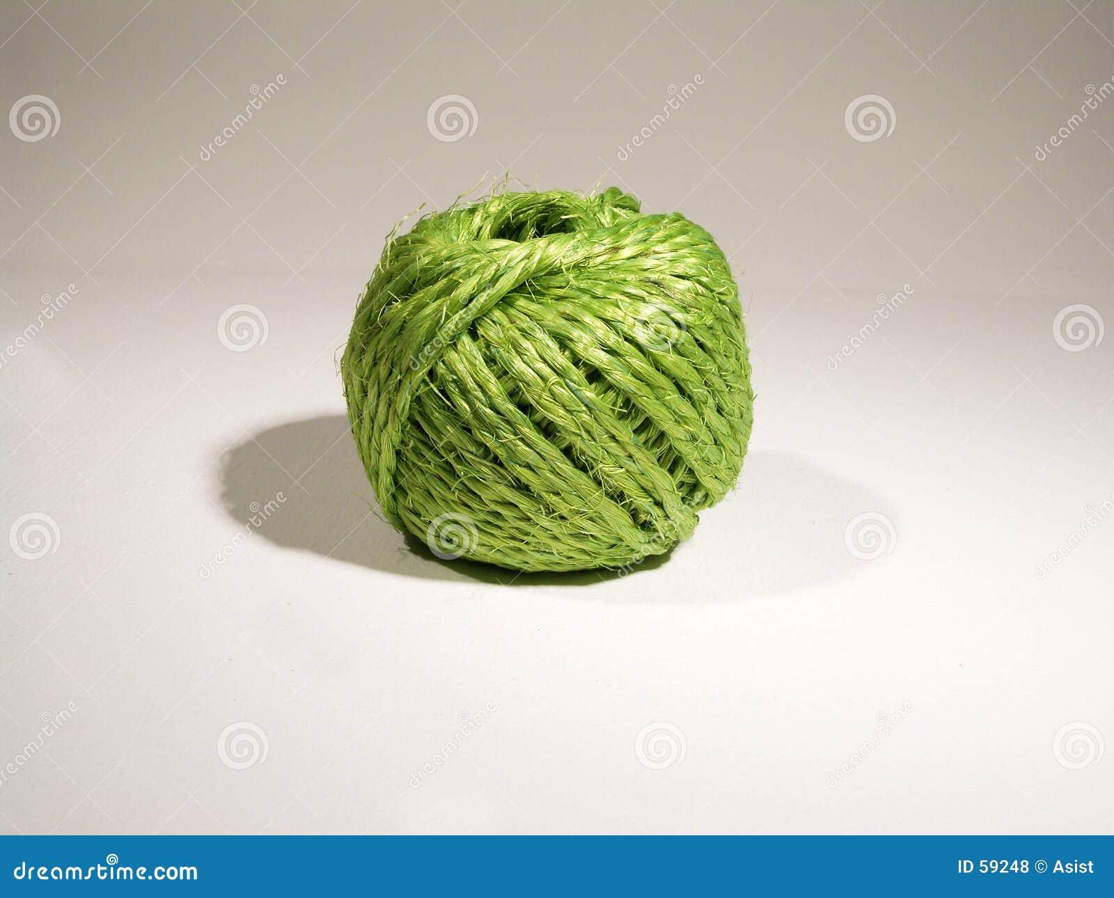 Bille de chaîne de caractères verte