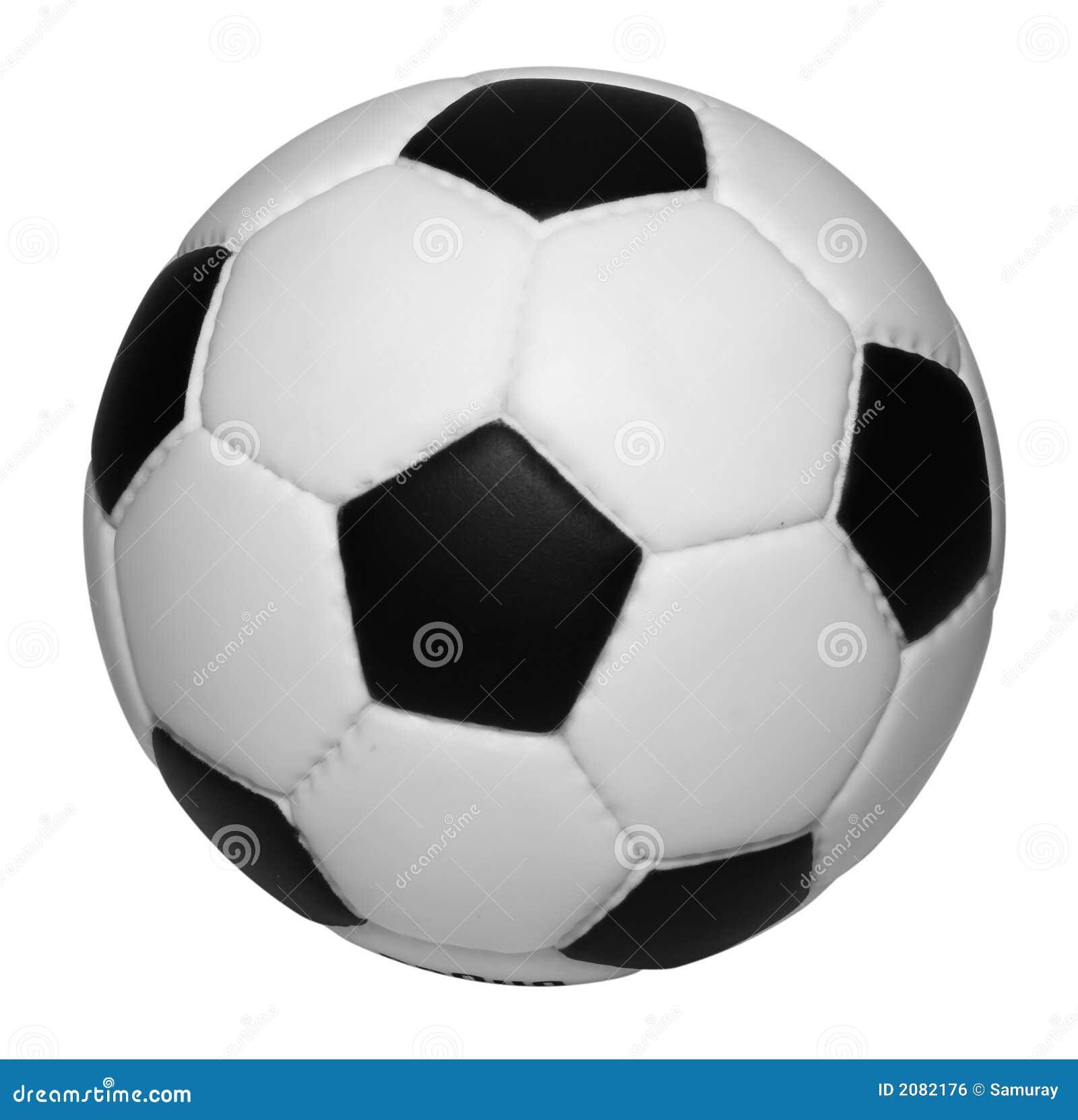 Bille de football d isolement