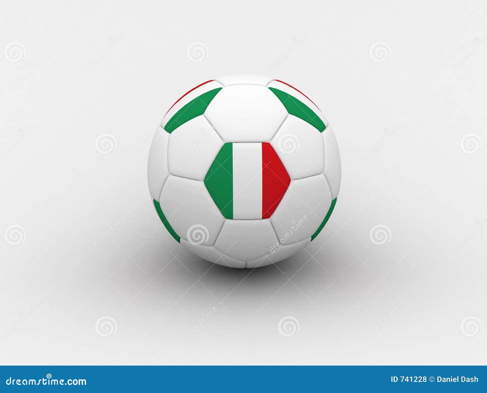 Bille de football de l Italie