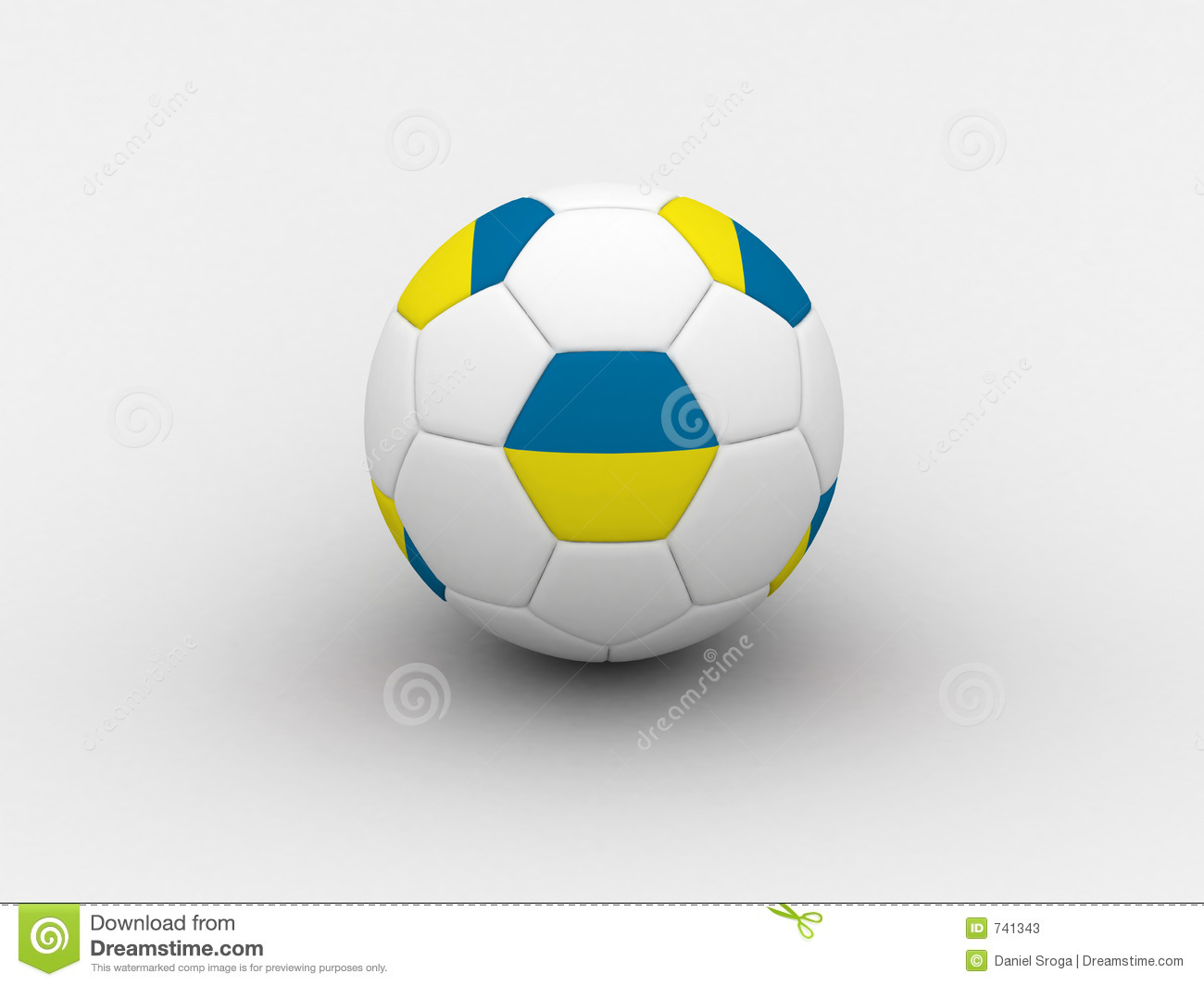 Bille de football de l Ukraine