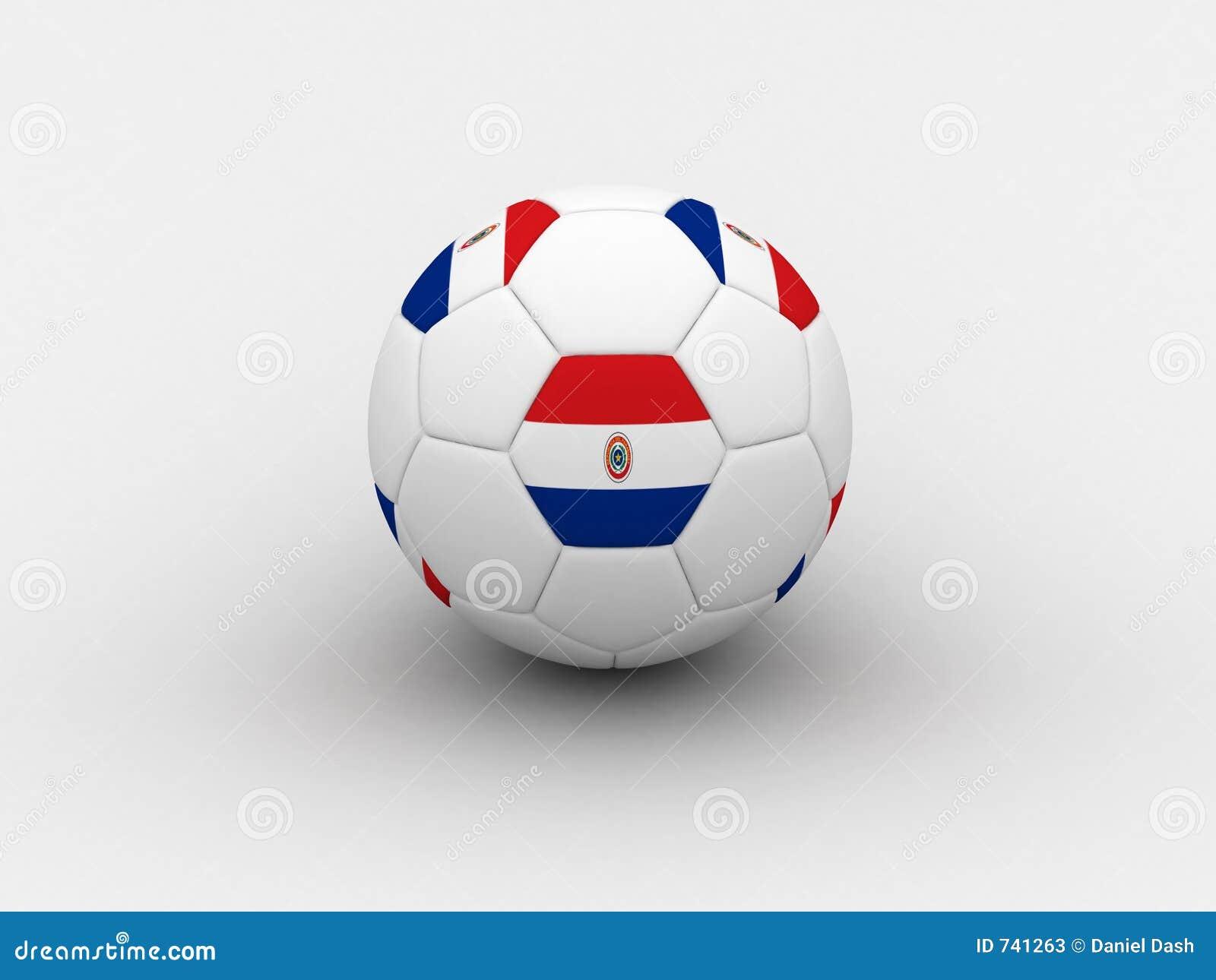 Bille de football du Paraguay