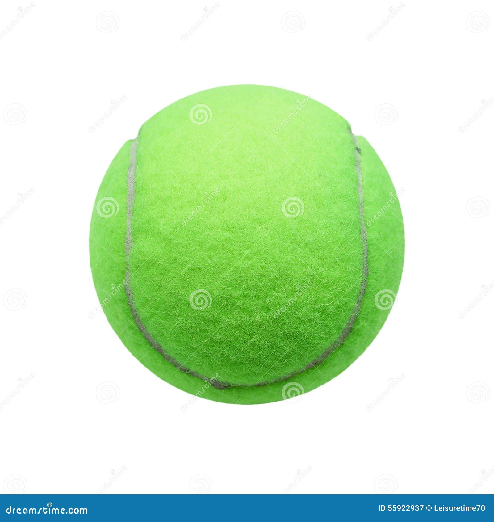 da6a70e2912a3 Bille De Tennis D'isolement Sur Le Fond Blanc Image stock - Image du ...