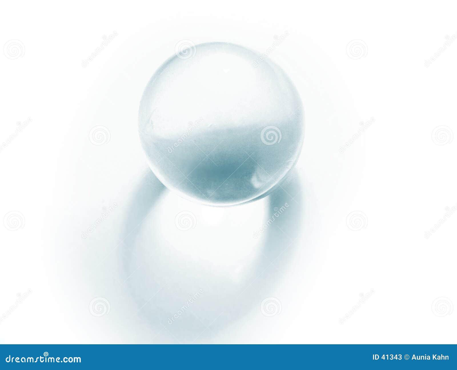 Bille en verre