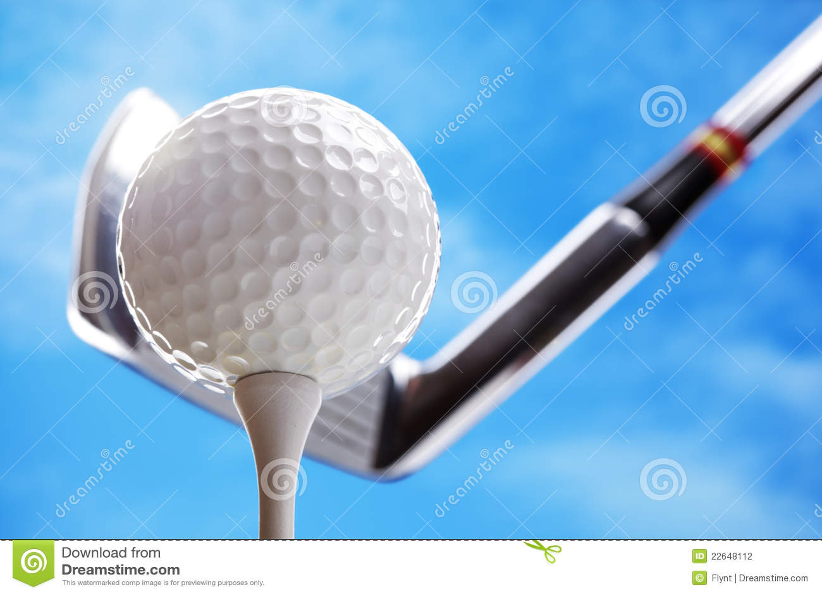Bille et club de golf