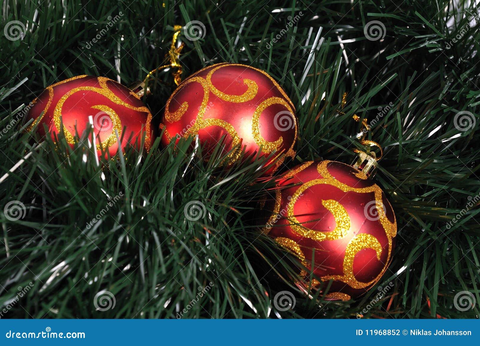Billes d arbre de Noël