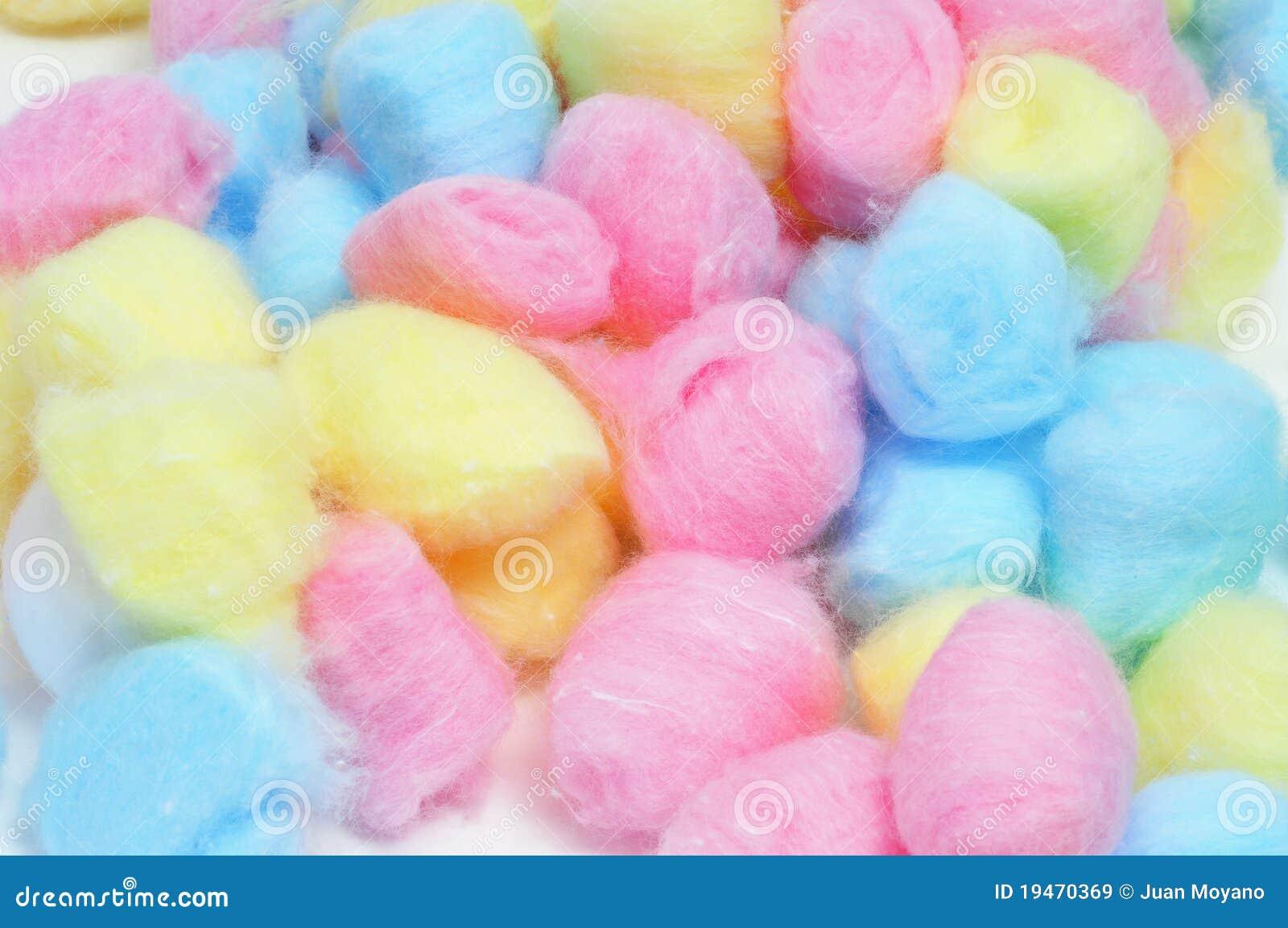 Billes de coton