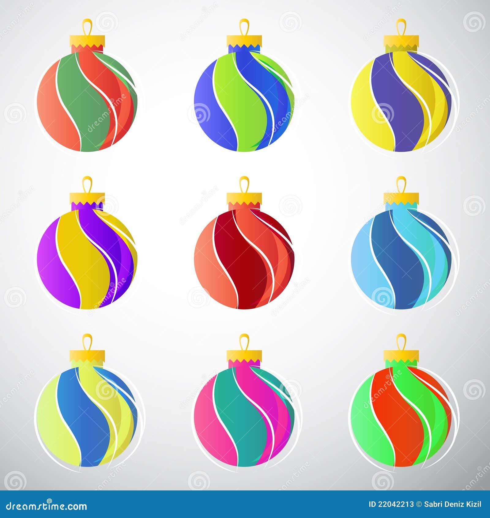 Billes de décoration de Noël
