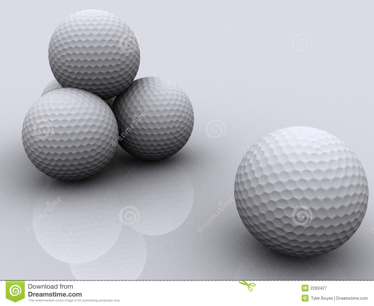 Billes de golf