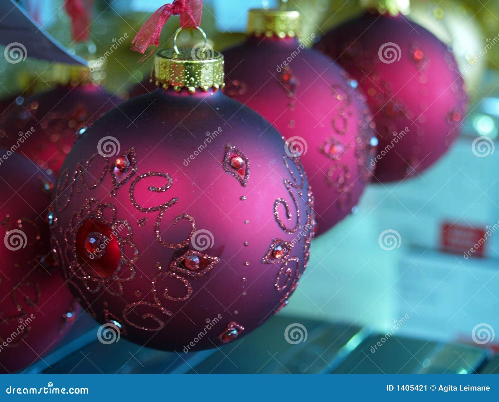 Billes de Noël