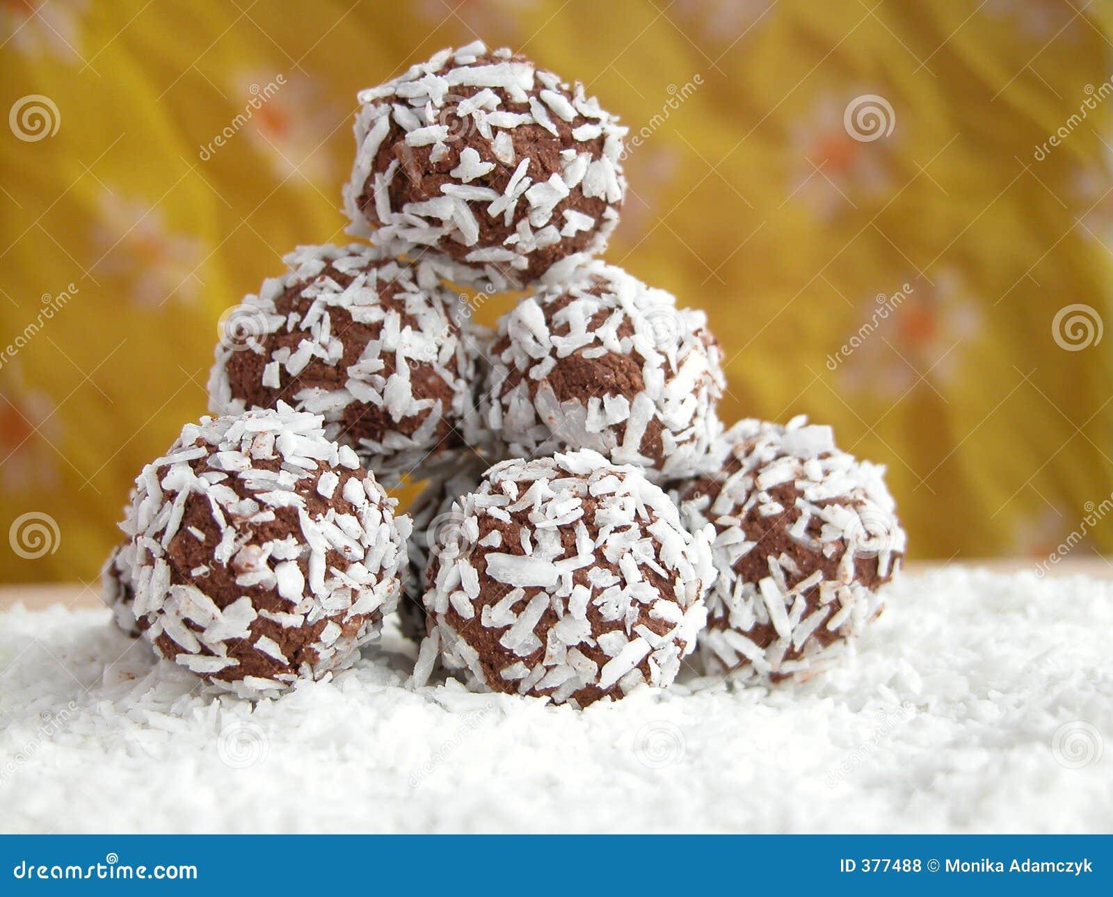 Billes de noix de coco