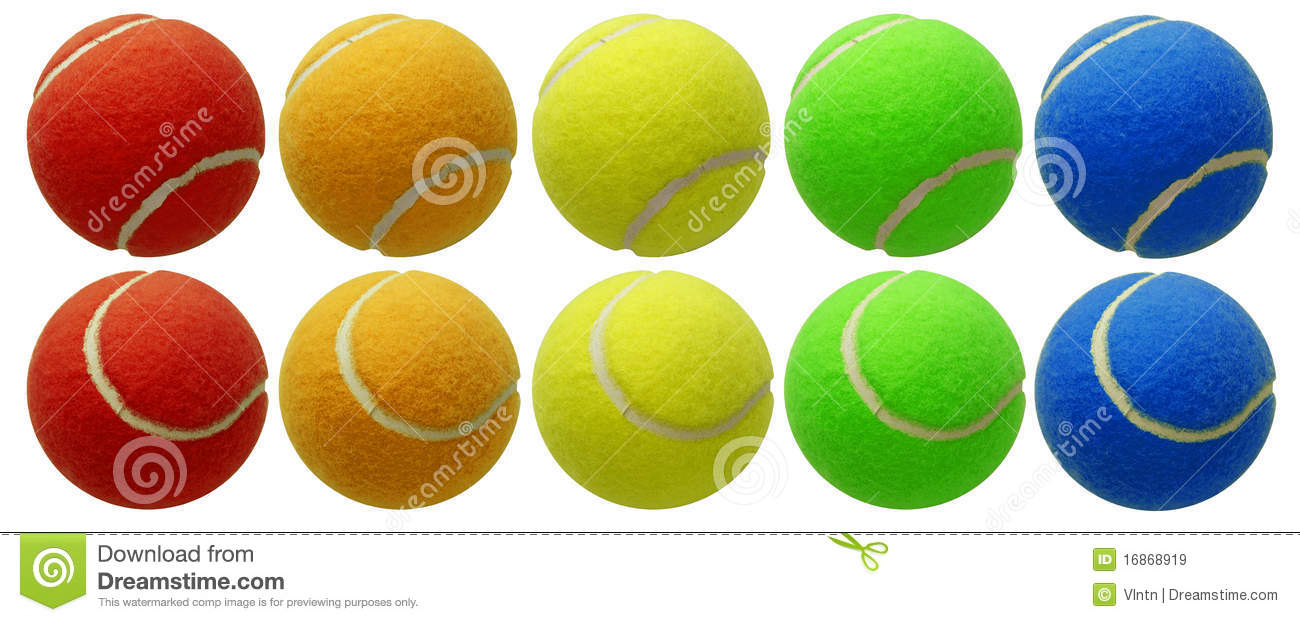 Billes de tennis