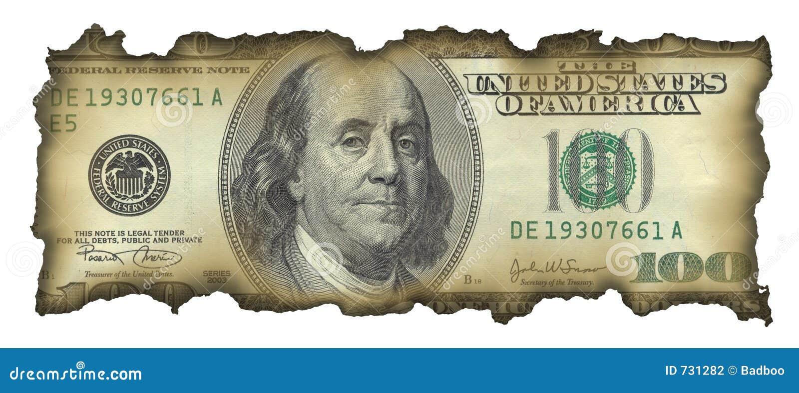 Billet d un dollar 100