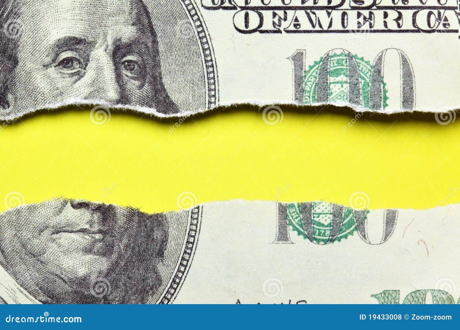 billet de banque dechire que faire