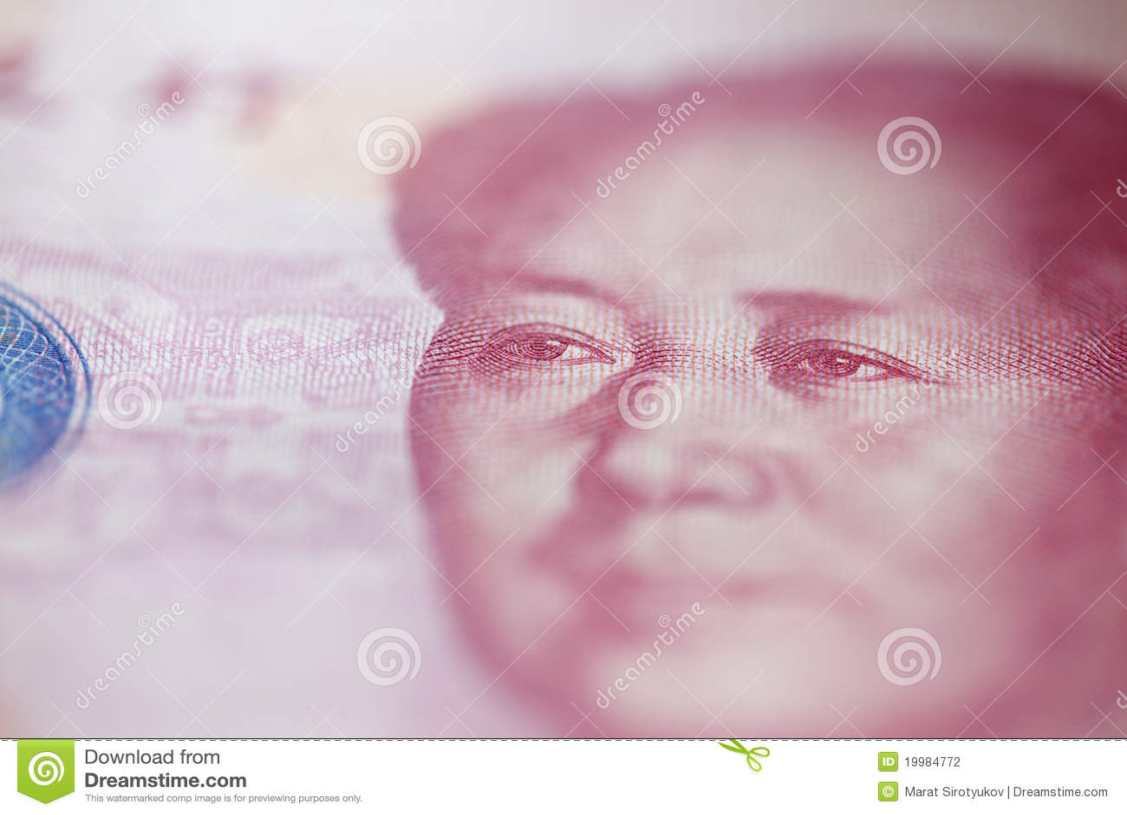 Billet de banque de <b>yuan du</b> fron cent de Mao - billet-de-banque-de-yuan-du-fron-cent-de-mao-19984772