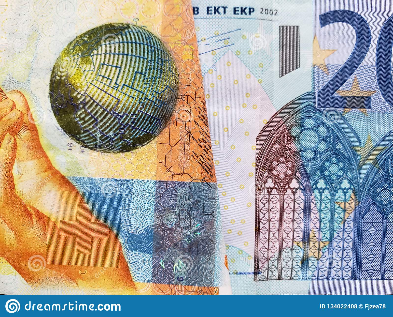 Billet De Banque Suisse De Dix Francs Et Billet De Banque
