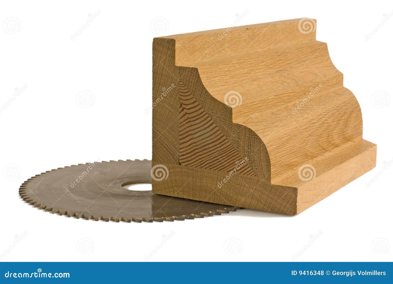 Billete de madera para los muebles con la hoja de sierra - Hojas de sierra para madera ...