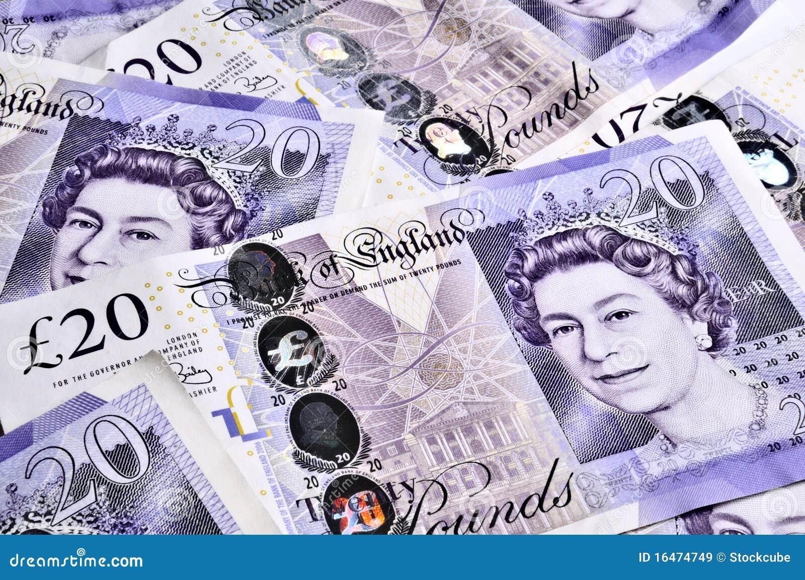Billetes de banco BRITÁNICOS