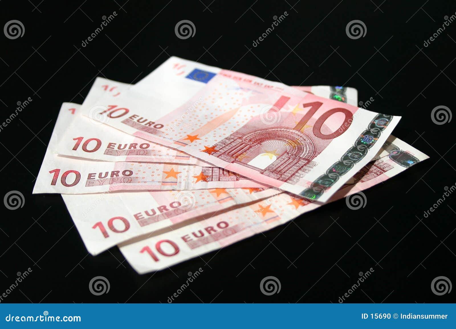 Billetes de banco euro