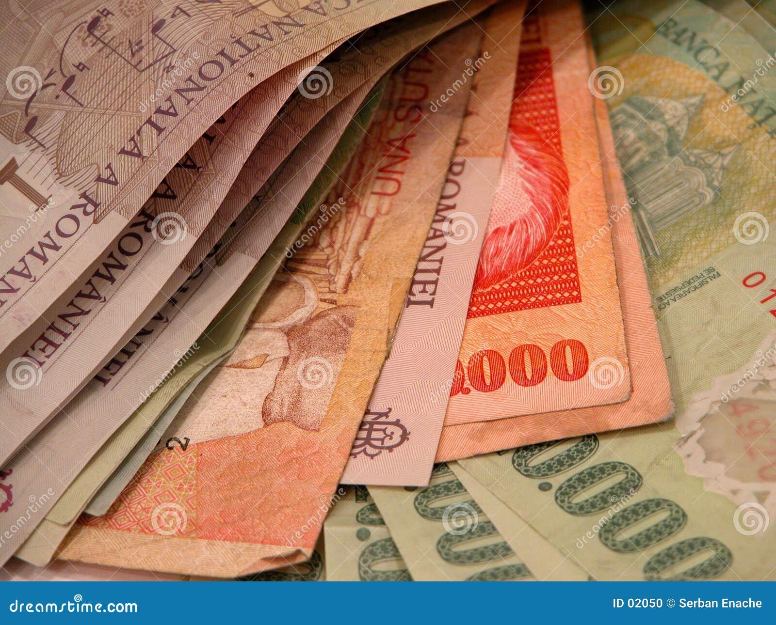 Billets de banque et factures
