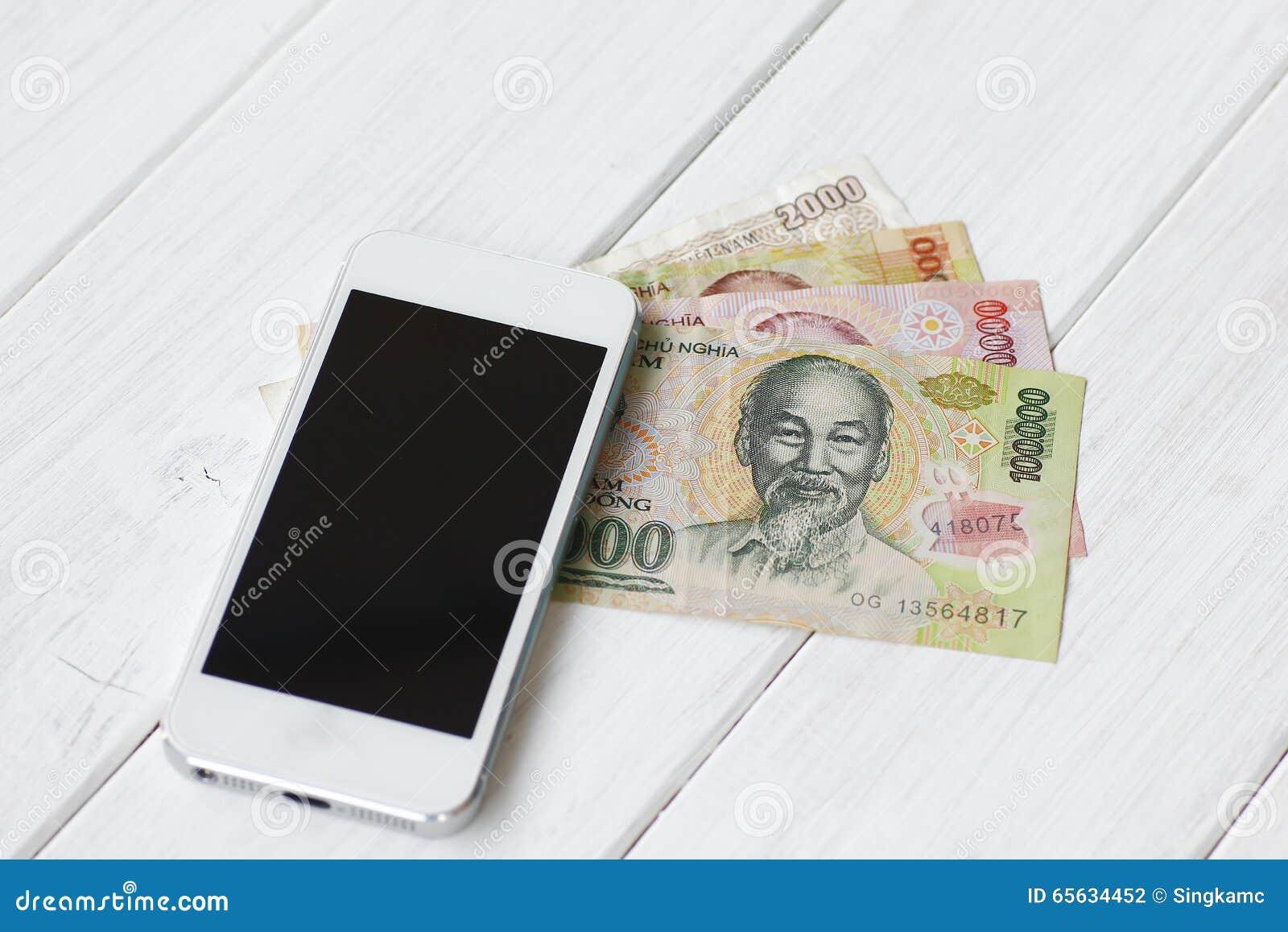 Billets de banque vietnamiens de Dong de devise