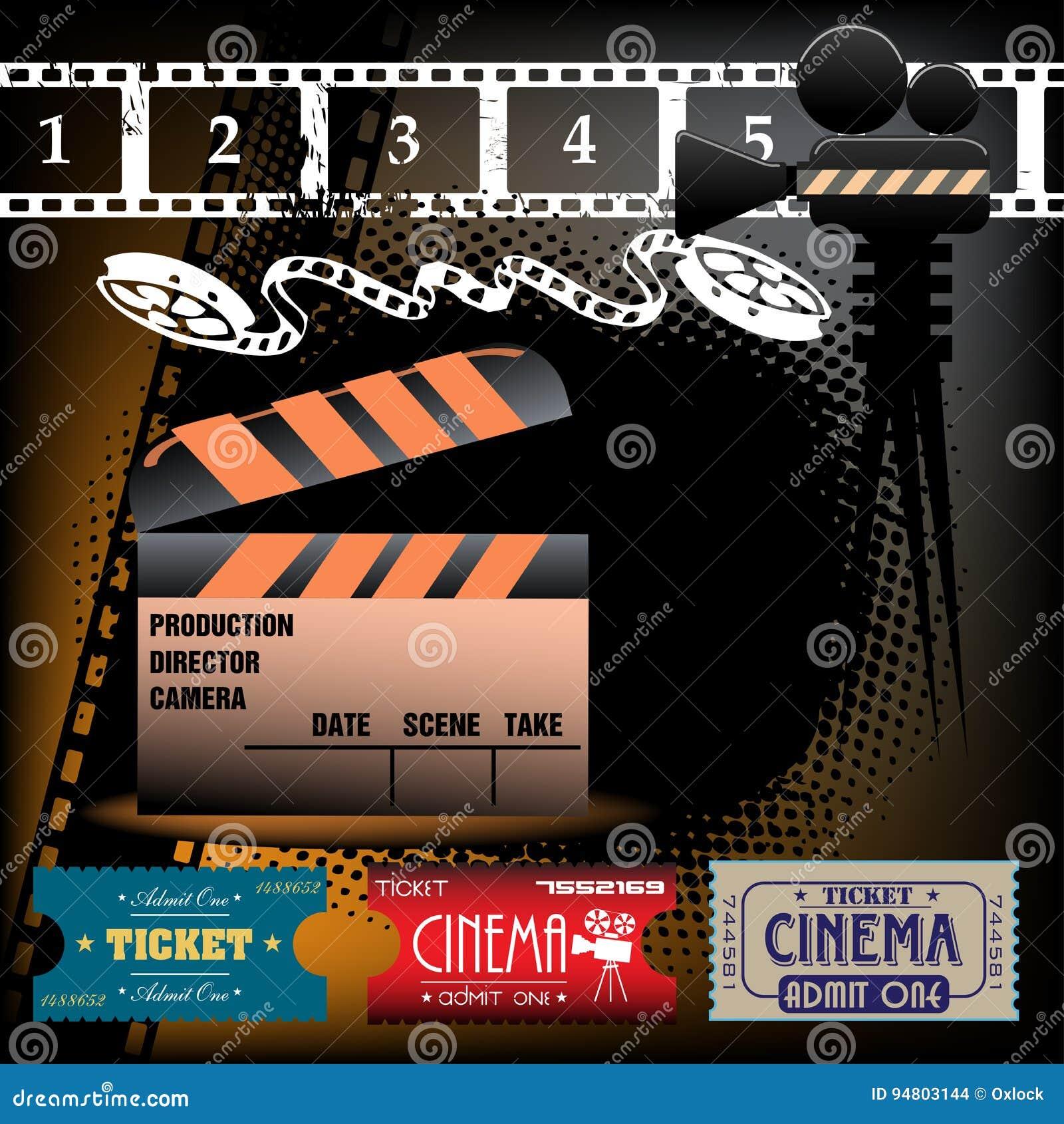 Billets de cinéma