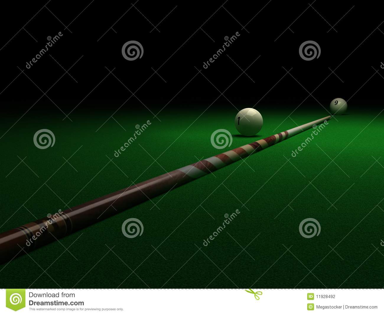 Billiard Stock Photography Image 11928492