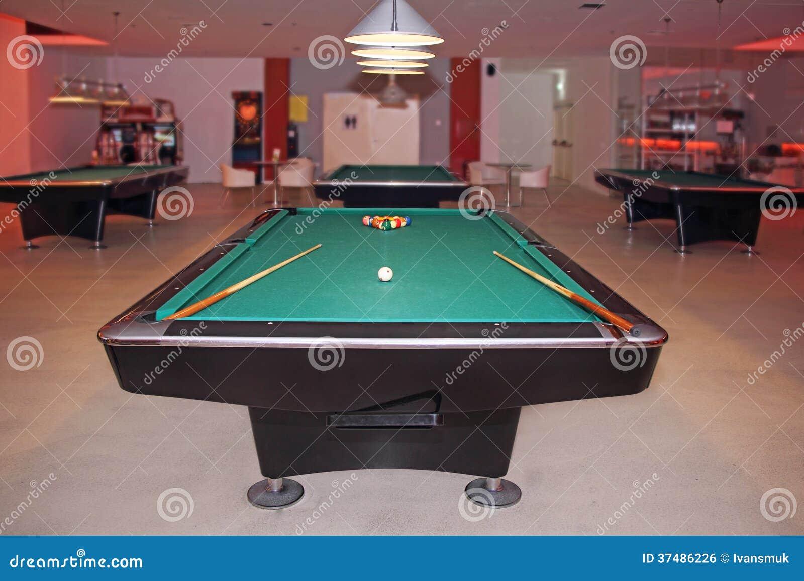 Free pool hall business plan