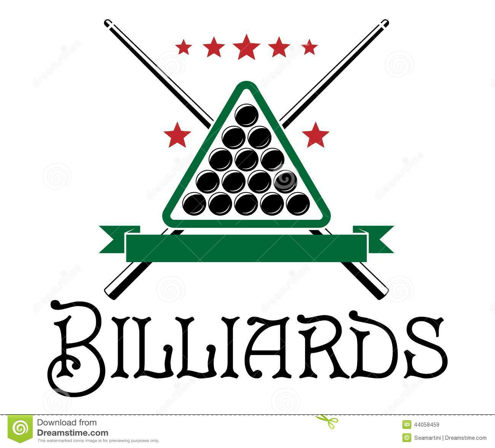 Billiards pool and snooker sport logos set Vector Image   Billiards Logo