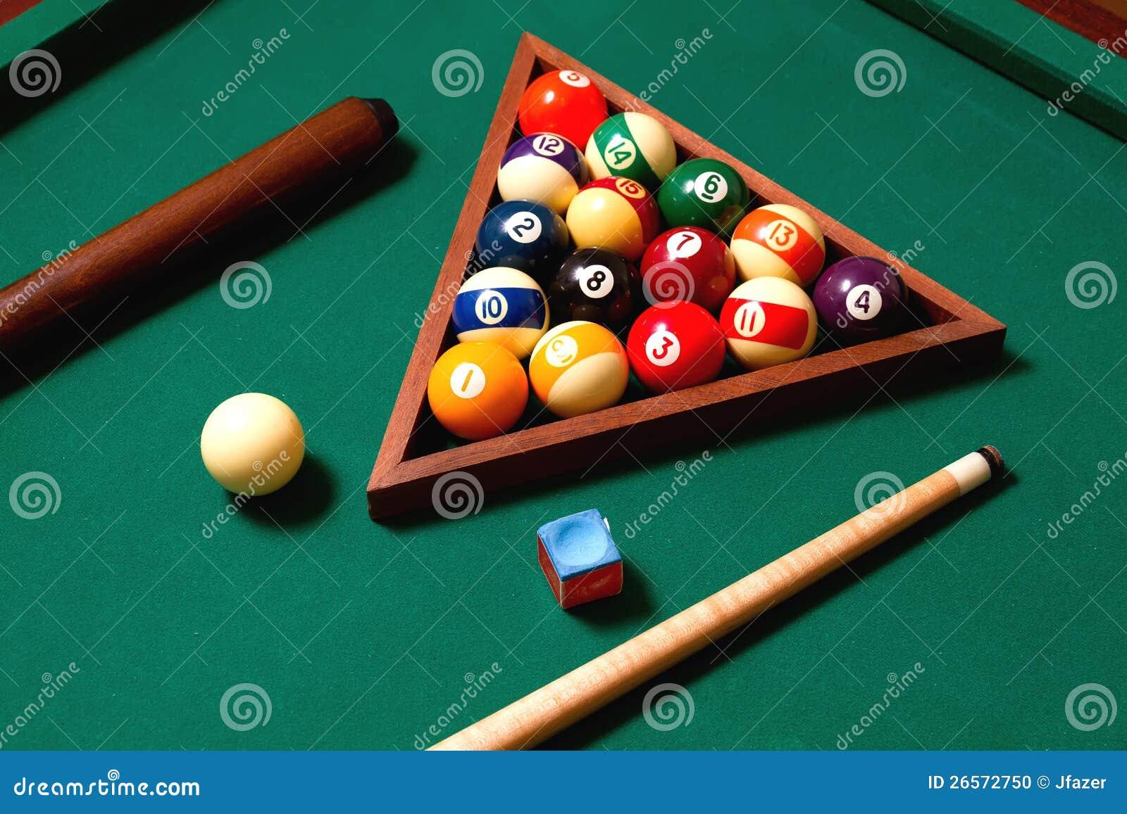 Billiards elements