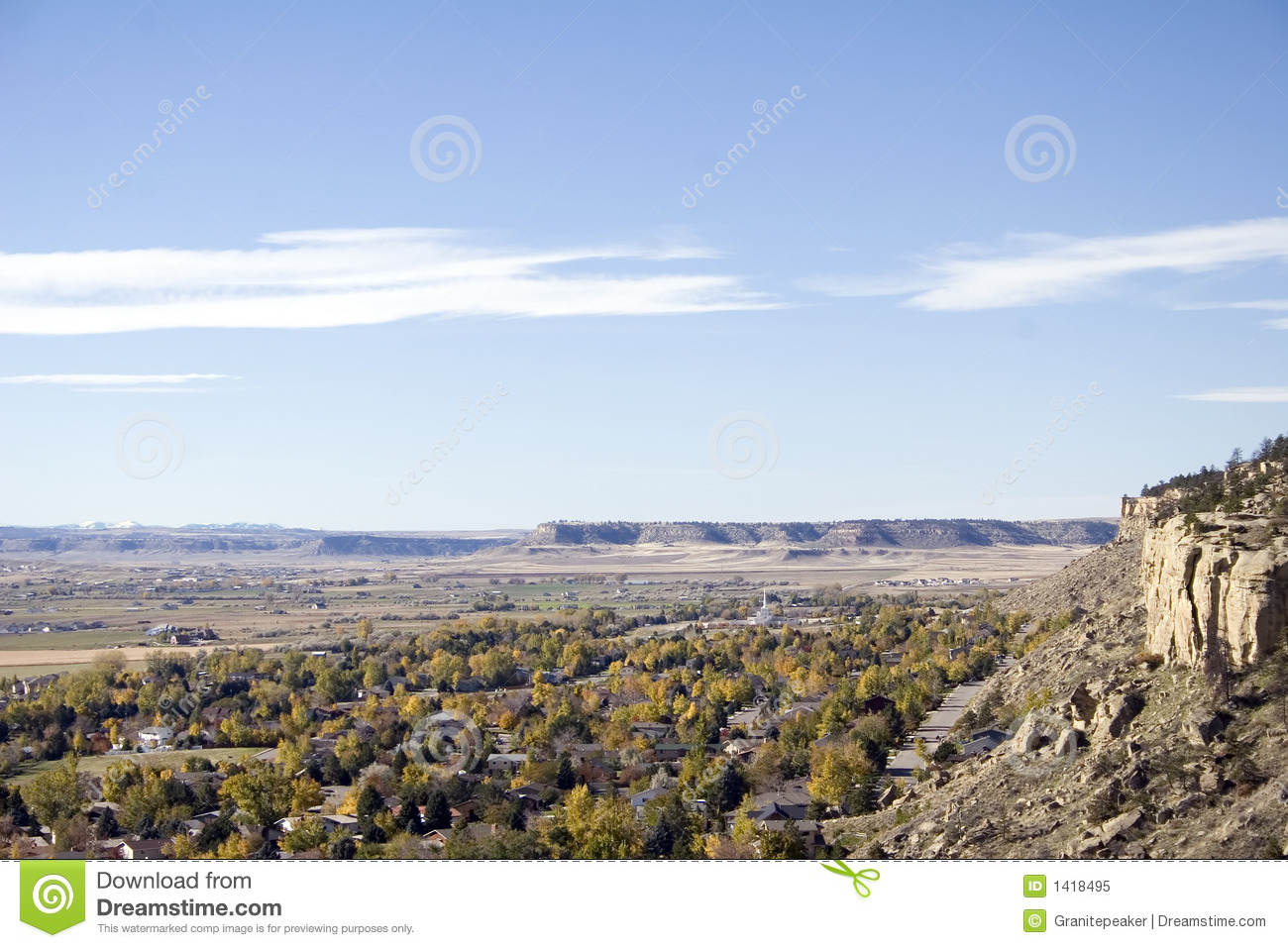 Billings Montana Royalty Free Stock Photo Image 1418495