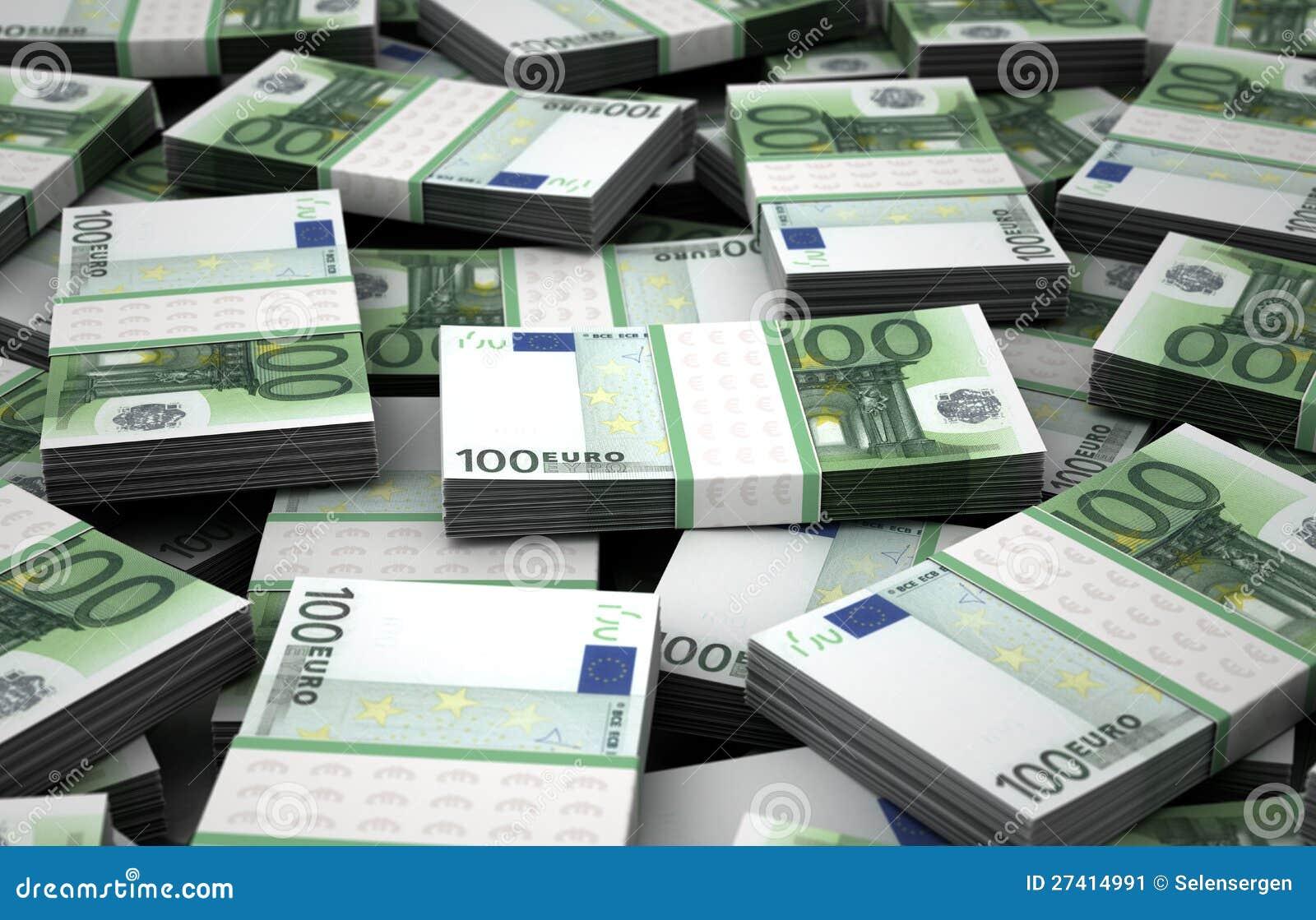 billion euros stock image image 27414991. Black Bedroom Furniture Sets. Home Design Ideas