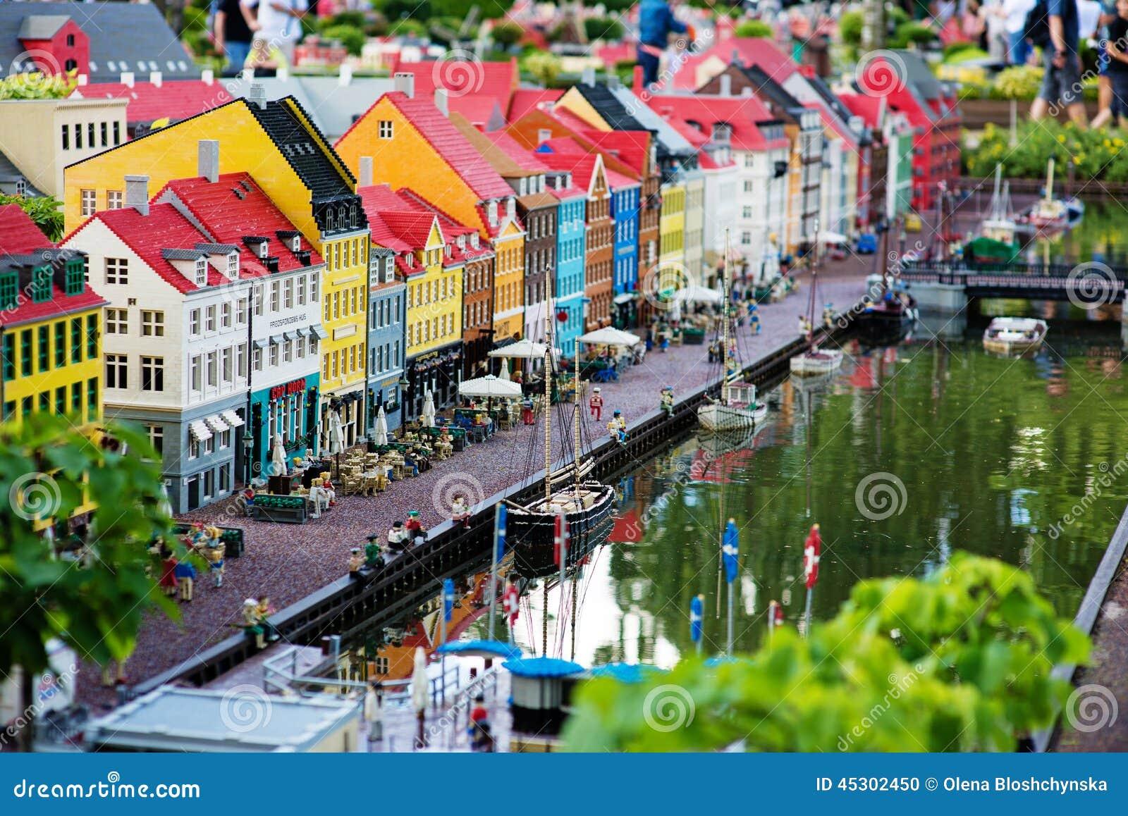 Billund July 31 2013 Legoland In Billund Denmark On