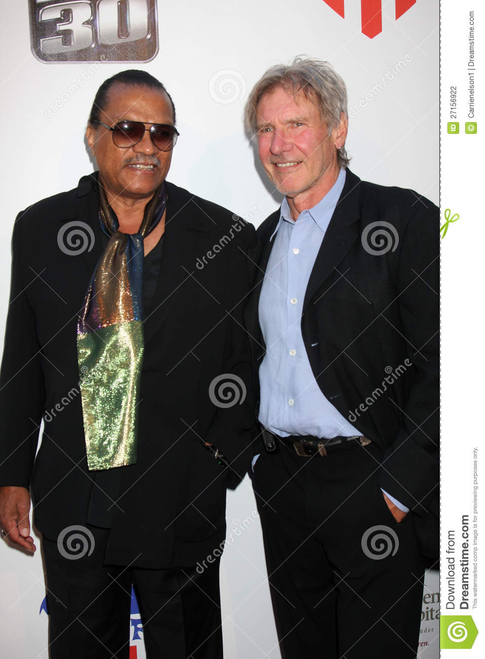 Billy Dee Williams, Harrison Ford, William Harrison
