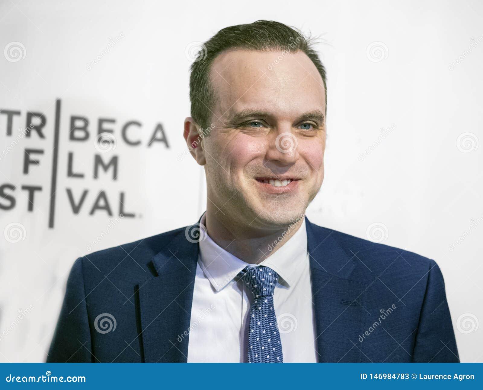 Billy Lyons przy premiera «Ono Bierze Szaleńczego «przy 2019 Tribeca festiwalem filmowym