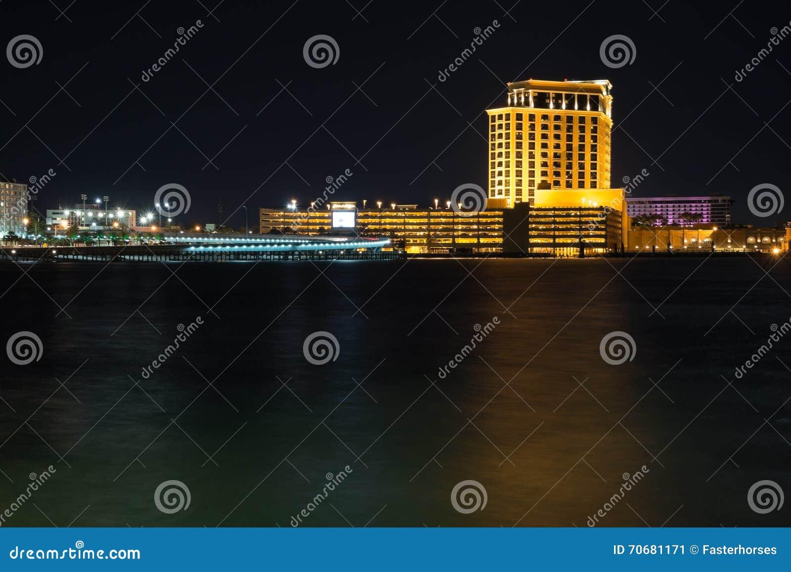 Biloxi, Mississippi Skyline.