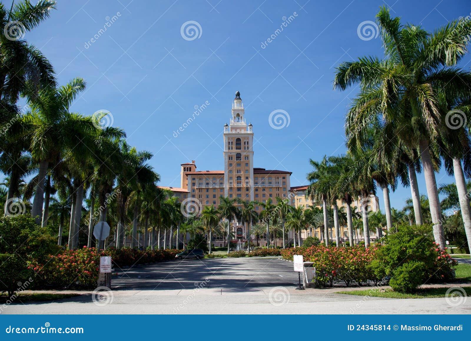 Biltmore ξενοδοχείο Μαϊάμι αετωμάτων της Φλώριδας κοραλλιών