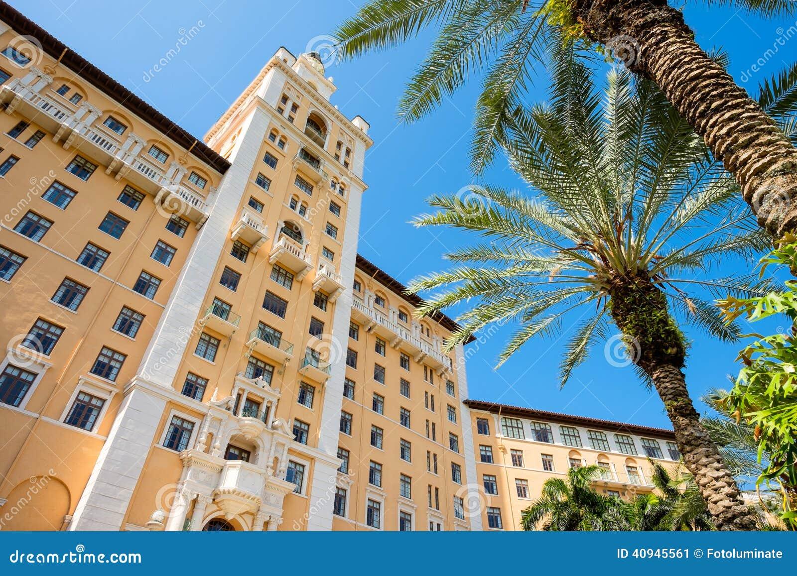 The Biltmore Hotel Coral Gables Miami Florida Usa