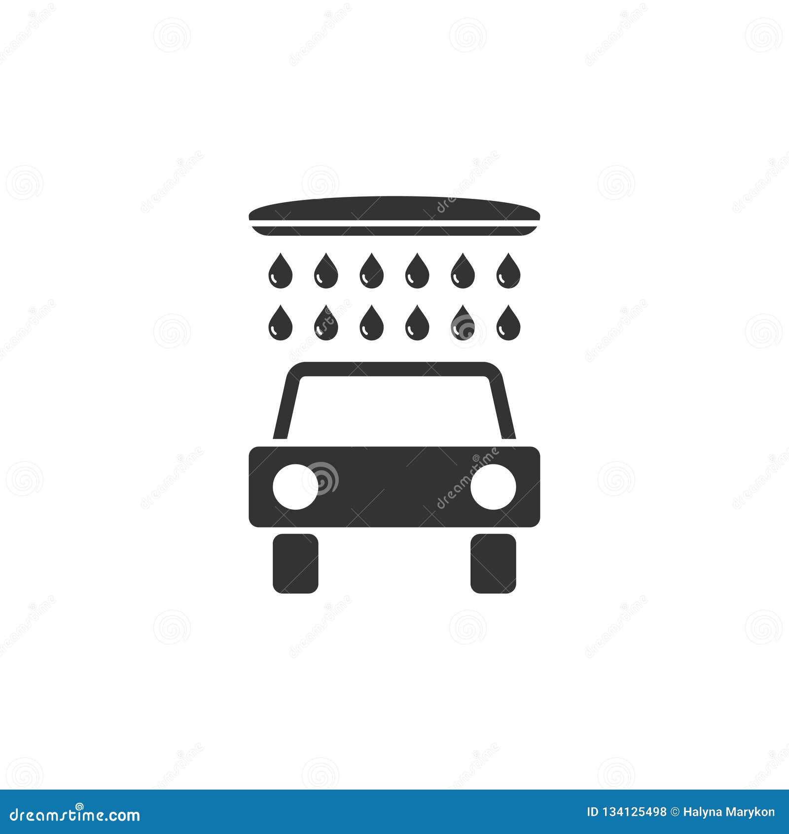 Biltvättsymbolslägenhet