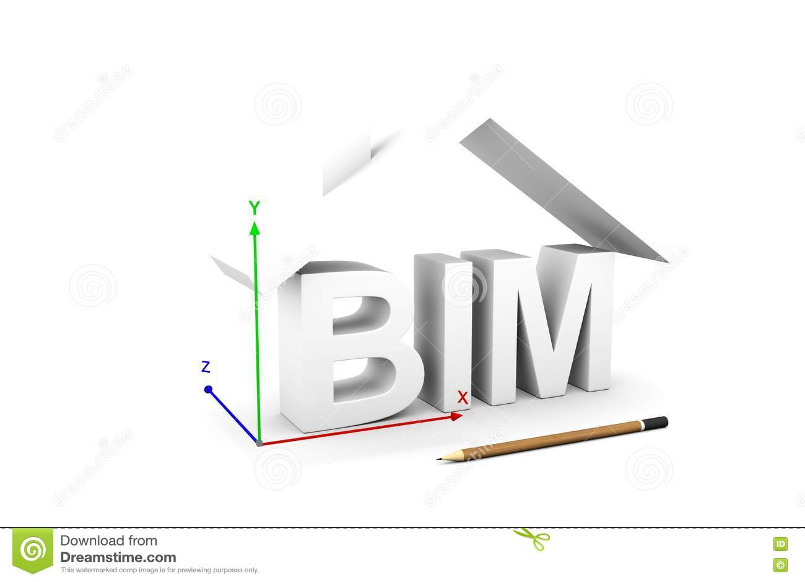 Bim Stock Illustration Image 77593079