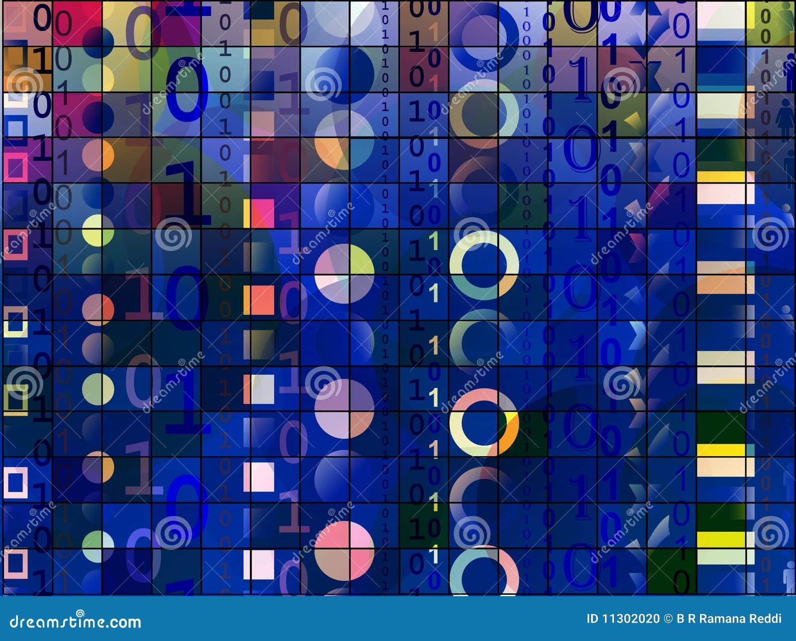 Binärer Hintergrund